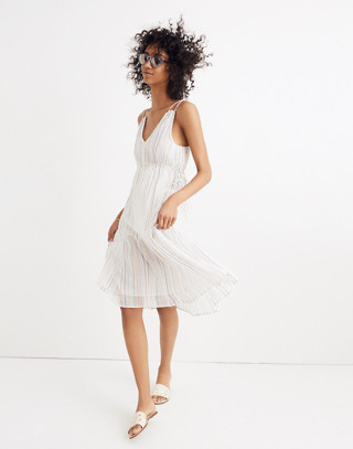 Apiece Apart™ Striped Daphne Midi Dress