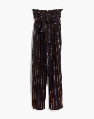 Apiece Apart™ Striped Zaza Gipsea Jumpsuit in black fez stripe image 4