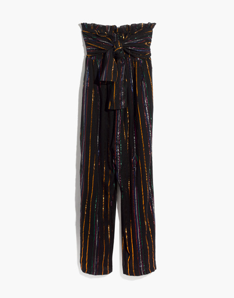 Apiece Apart™ Striped Zaza Gipsea Jumpsuit in black fez stripe image 4