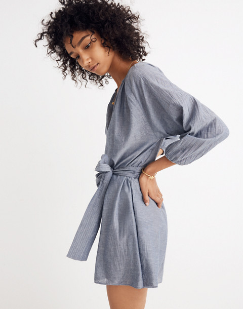 Apiece Apart™ Chambray Isla Romper in chambray image 2