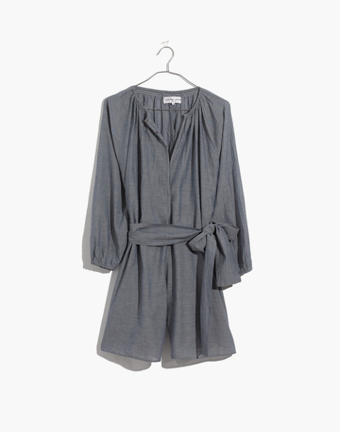 Apiece Apart™ Chambray Isla Romper in chambray image 4