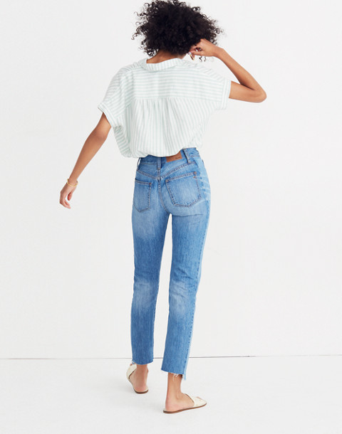 The Perfect Summer Jean: Pieced Edition in oakdale wash image 3