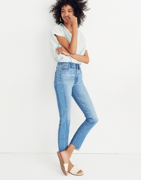The Perfect Summer Jean: Pieced Edition in oakdale wash image 1