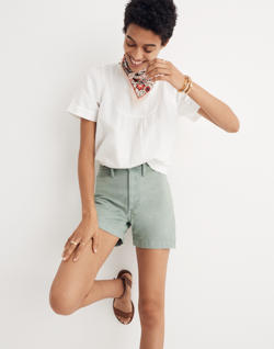 Emmett Shorts in Pale Evergreen