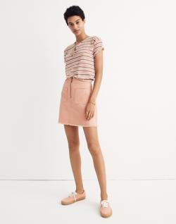 A-Line Zip Skirt