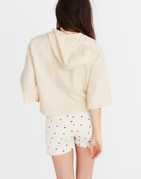 Hooded Popover Shirt in canvas image 3
