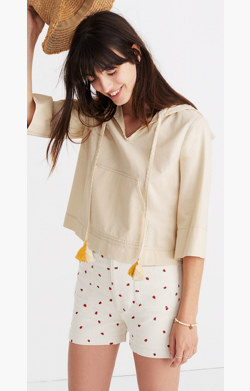Hooded Popover Shirt