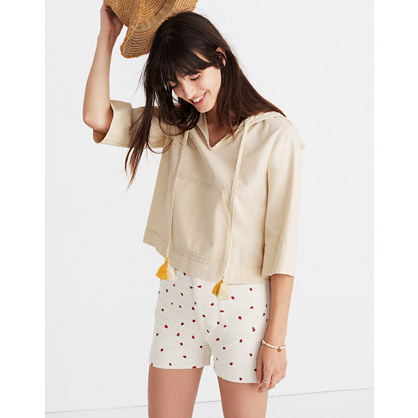 Hooded Popover Shirt by Madewell