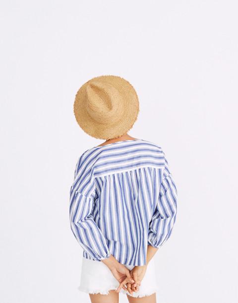 Peasant Top in Shea Stripe
