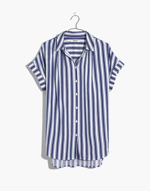 Central Shirt in Shea Stripe