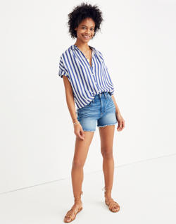 Central Shirt in Shea Stripe