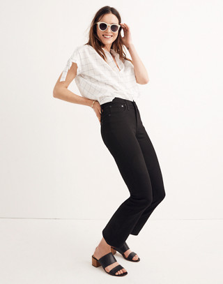 Tall Cali Demi-Boot Jeans in Black Frost in black frost image 3