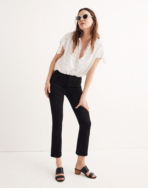 Tall Cali Demi-Boot Jeans in Black Frost in black frost image 1