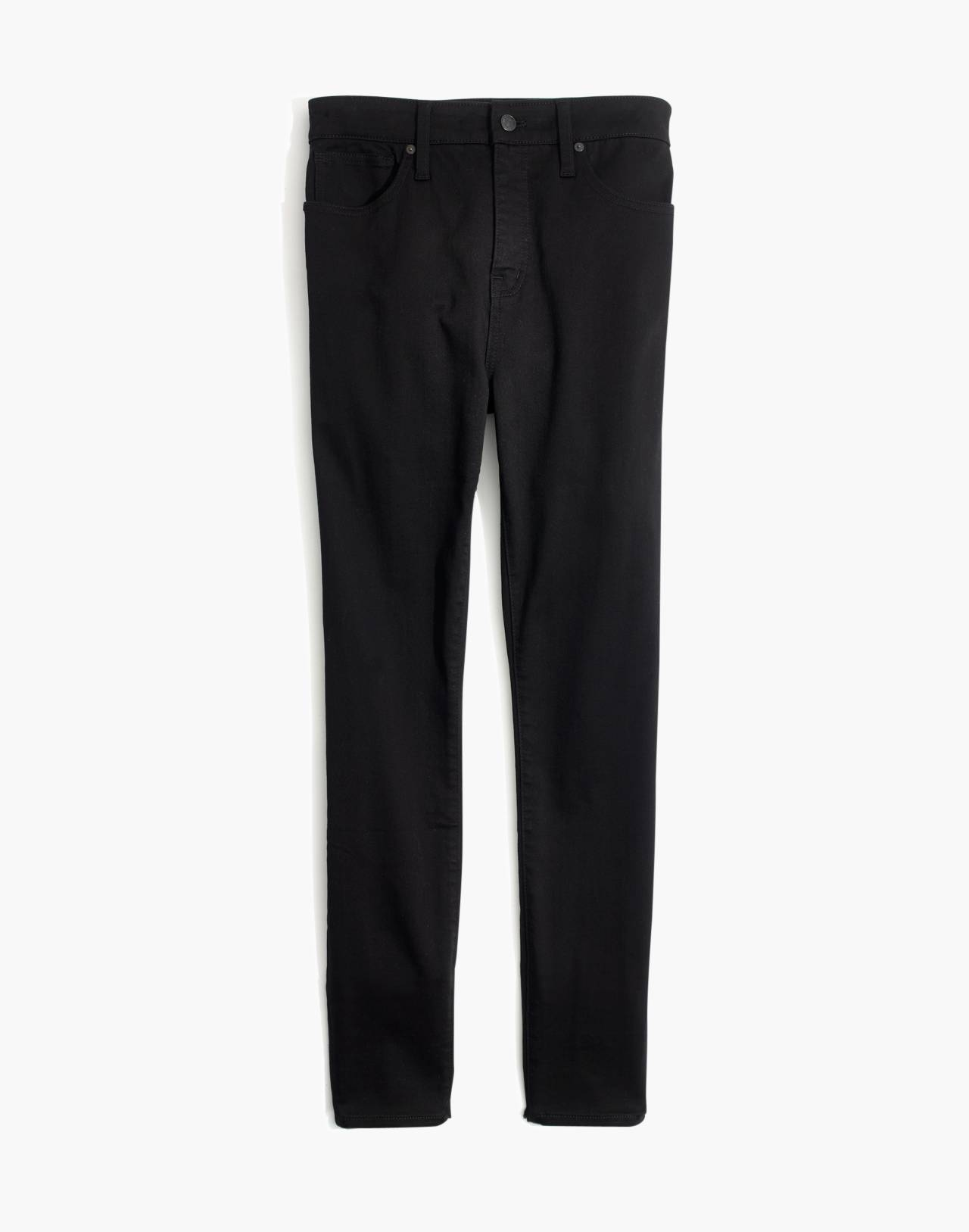 Petite Curvy High-Rise Skinny Jeans in Carbondale Wash in carbondale wash image 4