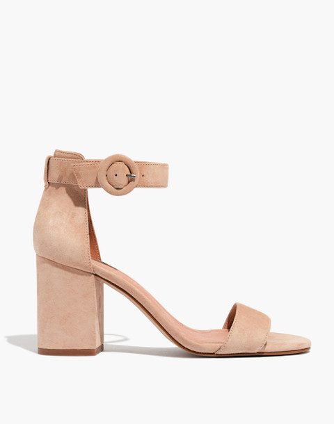 The Regina Ankle-Strap Sandal in sand dune image 3