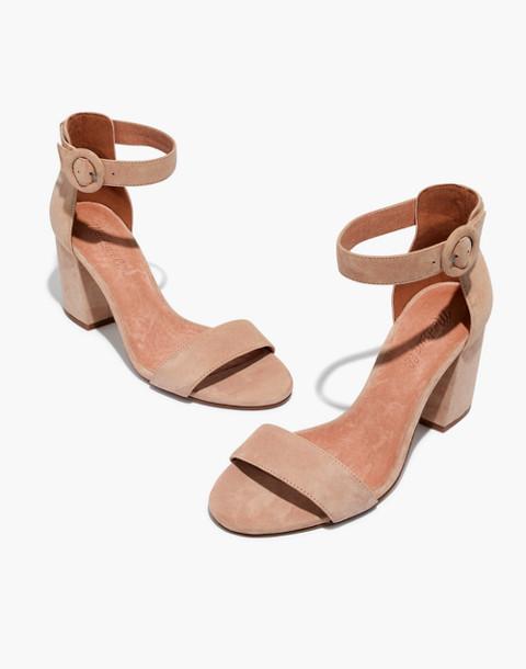 The Regina Ankle-Strap Sandal in sand dune image 1