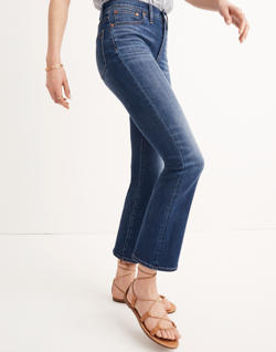 Short Cali Demi-Boot Jeans in Danny Wash: Tencel® Edition
