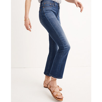Short Cali Demi-Boot Jeans in Danny Wash