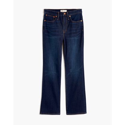 Cali Demi-Boot Jeans in Larkspur Wash
