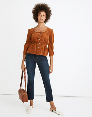 Cali Demi-Boot Jeans in Larkspur Wash: Tencel® Edition