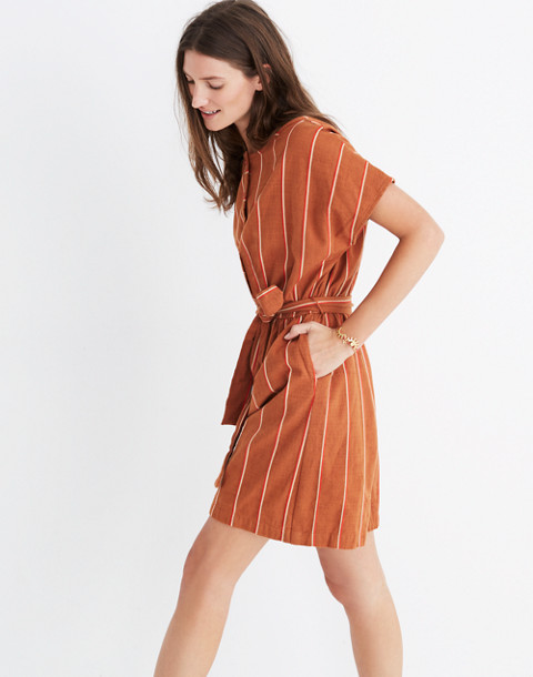Ace&Jig™ Striped Weekend Romper in cognac image 2