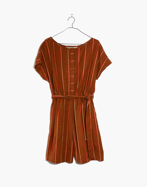 Ace&Jig™ Striped Weekend Romper in cognac image 4