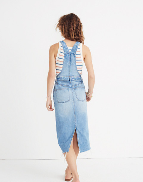 Reconstructed Overall Jumper in louetta wash image 3