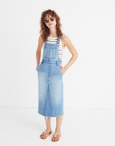 Reconstructed Overall Jumper in louetta wash image 1