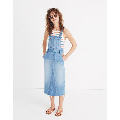 Reconstructed Overall Jumper by Madewell
