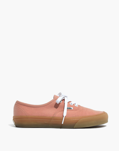 Vans® Unisex Authentic Sneakers in Muted Clay Canvas in muted clay image 3