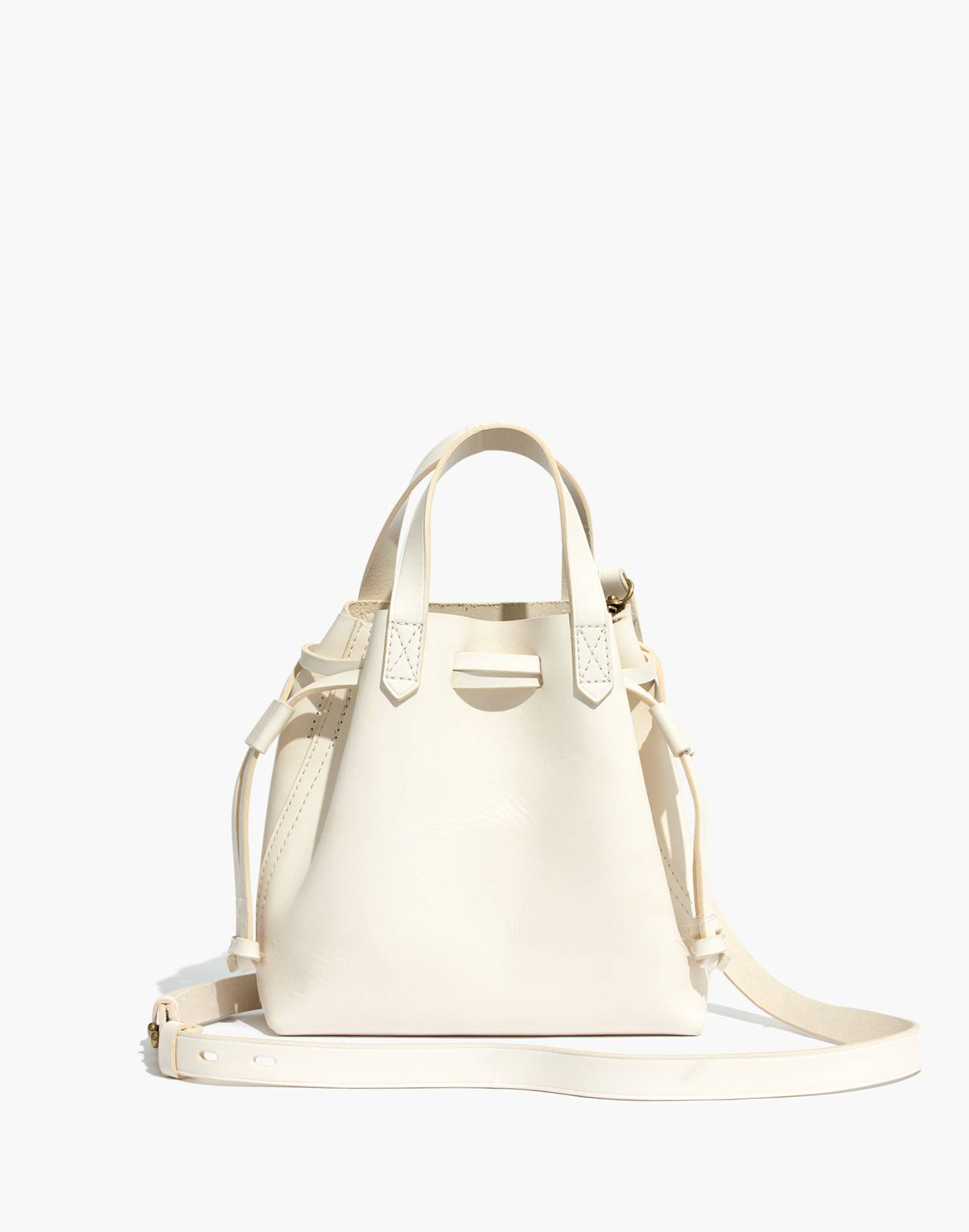 The Small Drawstring Transport Crossbody in vintage canvas image 1