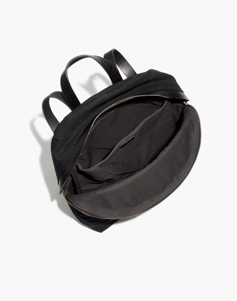 The Charleston Backpack in true black image 2