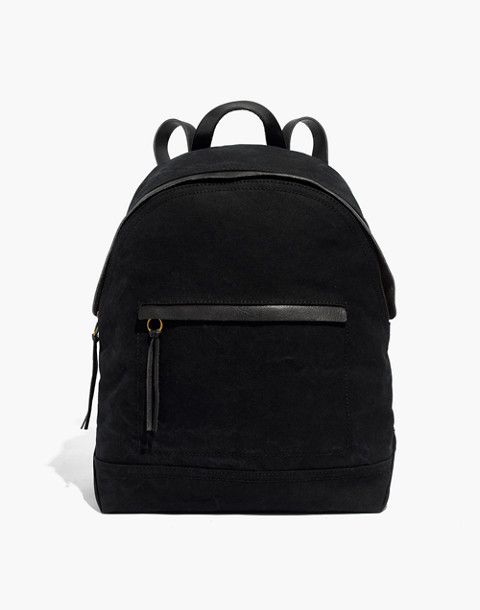 The Charleston Backpack in true black image 1