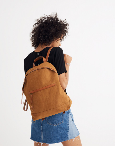 The Charleston Backpack in acorn image 2