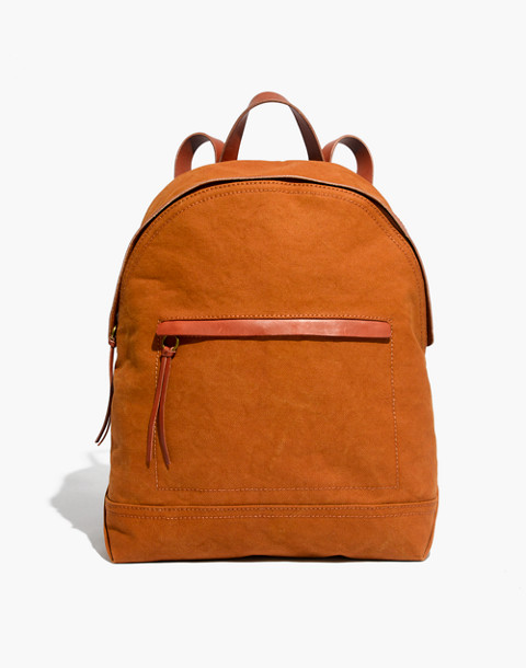 The Charleston Backpack in acorn image 1