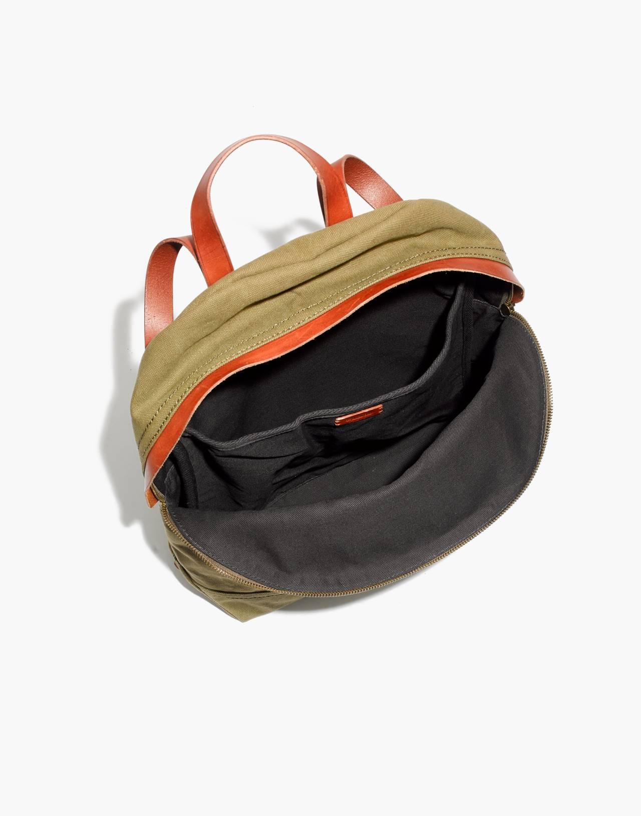 The Charleston Backpack in british surplus image 2