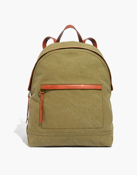 The Charleston Backpack in british surplus image 1