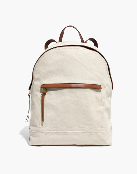 The Charleston Backpack in vintage canvas image 1