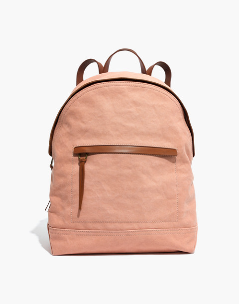 The Charleston Backpack in antique coral image 1