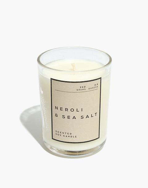 Glass Tumbler Candle in neroli sea salt image 1
