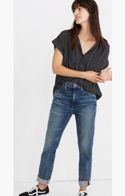 Central Drapey Shirt in Harold Stripe
