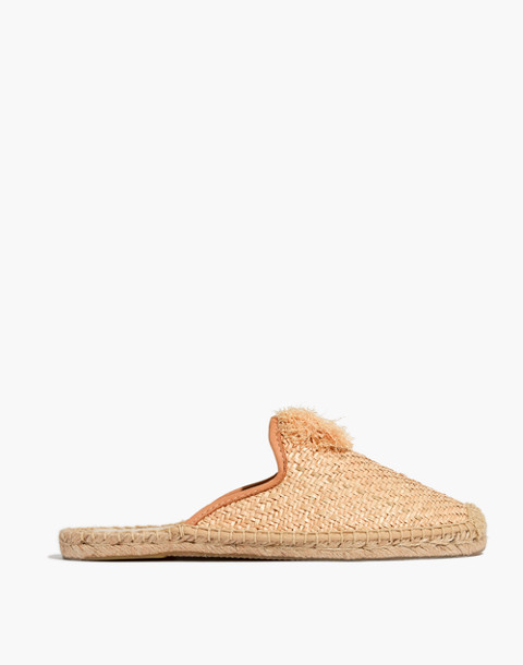 Soludos® Raffia Mules in natural image 3