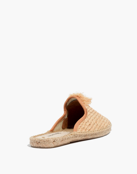 Soludos® Raffia Mules in natural image 4