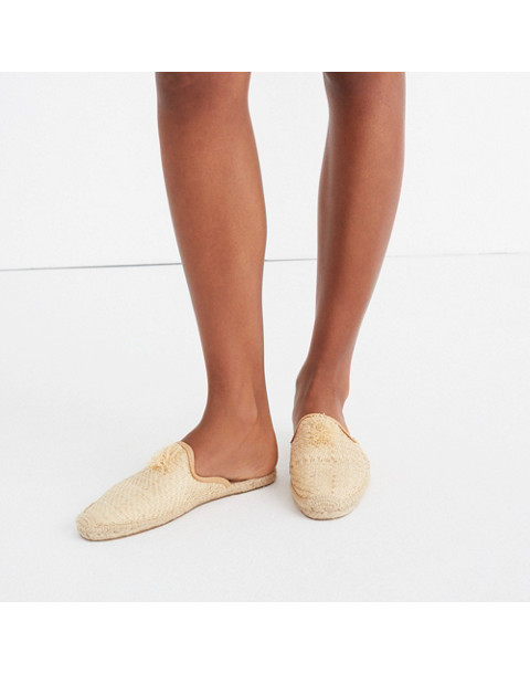 Soludos® Raffia Mules in natural image 2
