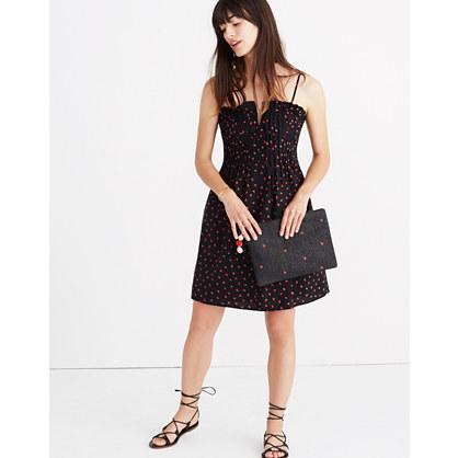 Pintuck Cami Dress In Fresh Strawberries Casual Dresses