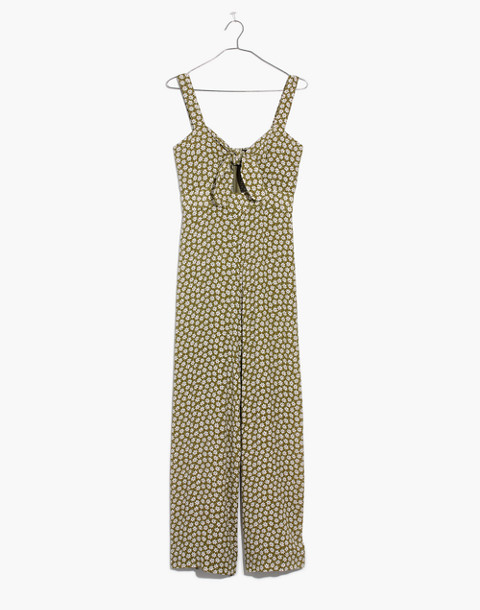Plumeria Cutout Jumpsuit in Mini Daisy in camille floral tundra image 4