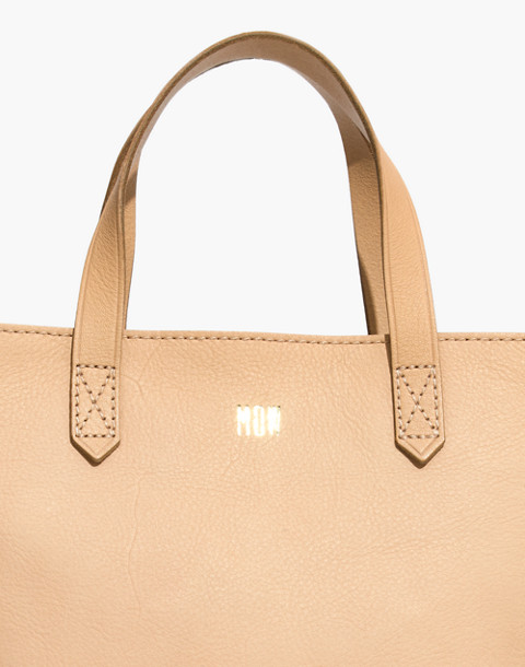 The Zip-Top Transport Crossbody in linen image 3