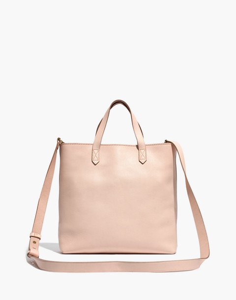The Zip-Top Transport Crossbody in linen image 1