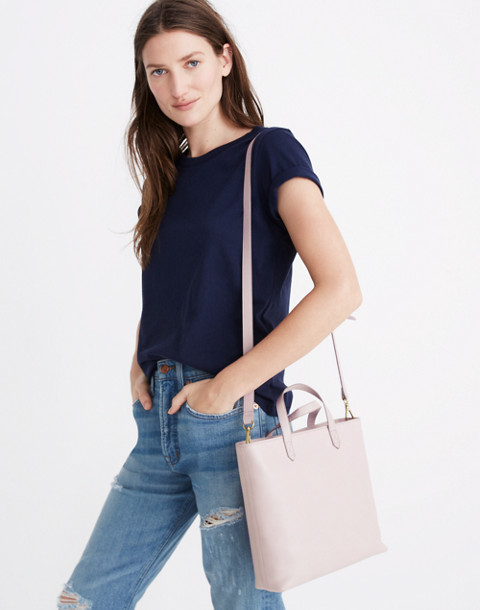 The Zip-Top Transport Crossbody in wisteria dove image 2