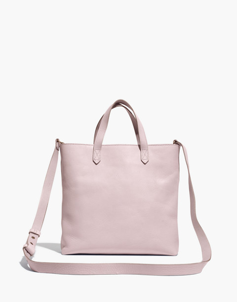 The Zip-Top Transport Crossbody in wisteria dove image 1